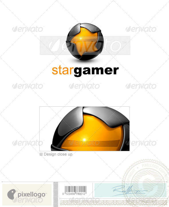 GraphicRiver Technology Logo 3D-670 526546