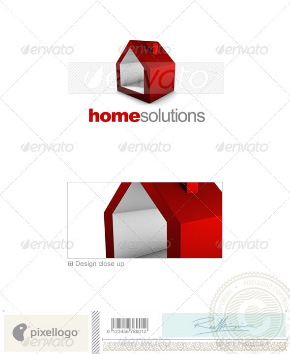 Real Estate Logo - 3D-707