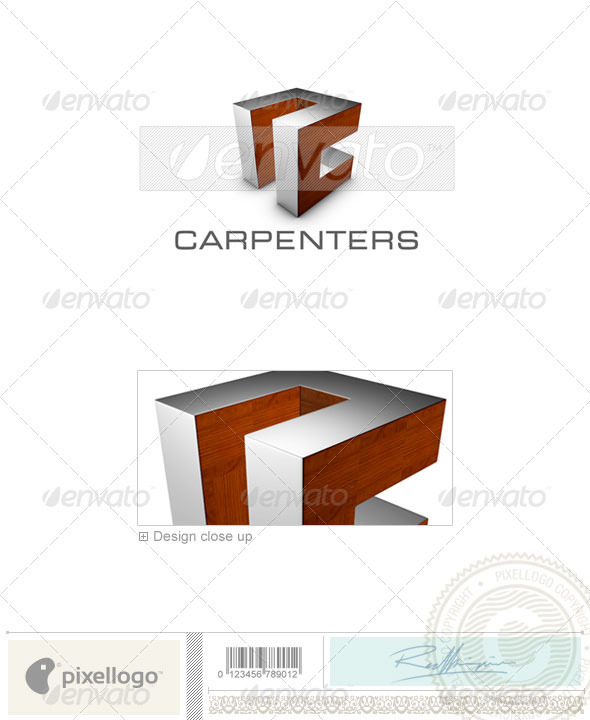 GraphicRiver Construction Logo 3D-701 526553