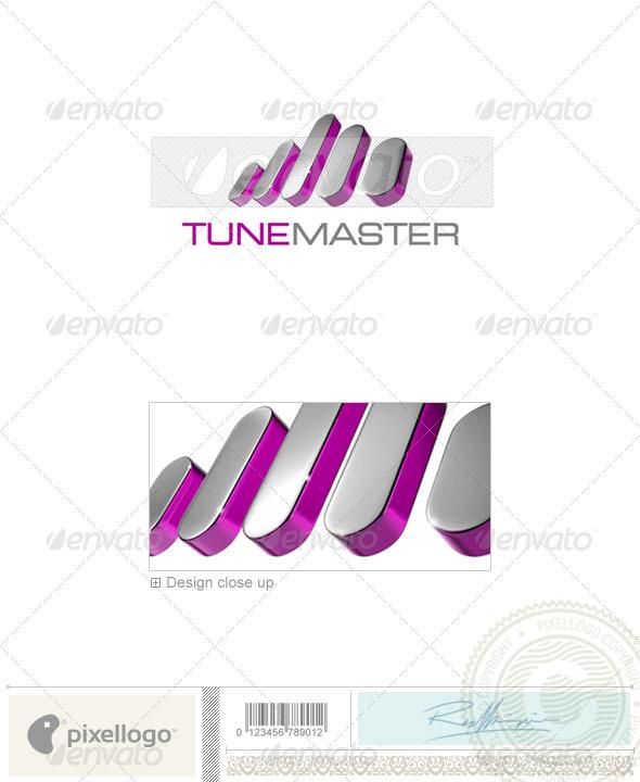 Music Logo - 3D-712