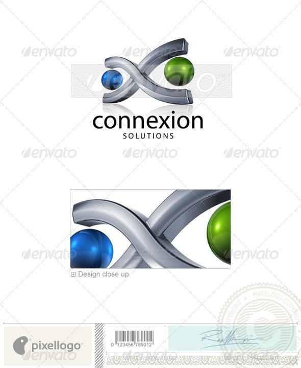 Communication Logo 3D746