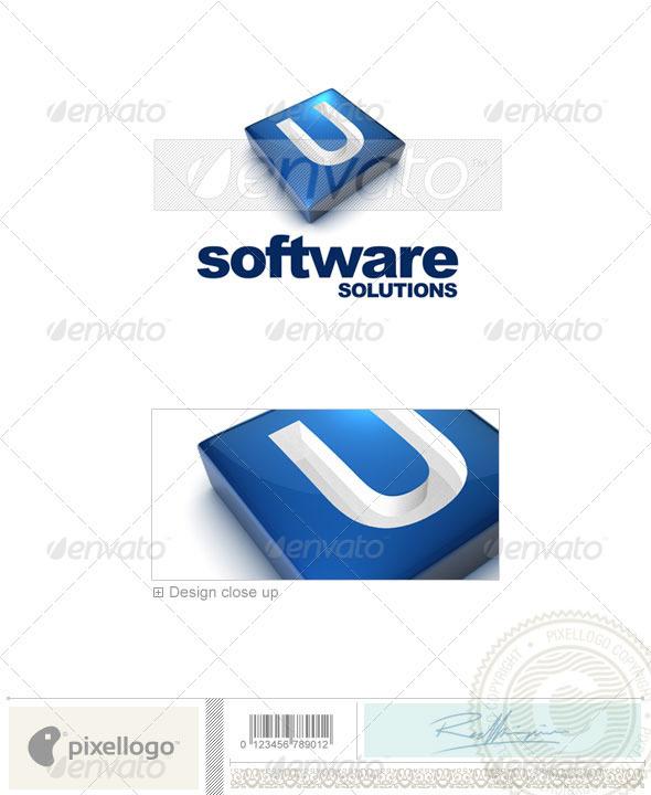 U Logo 3D-644-U