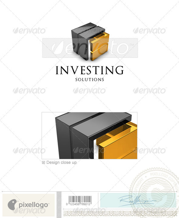 Business & Finance Logo 3D-581