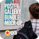 Poster Gallery Mock-Up Bundle - GraphicRiver Item for Sale
