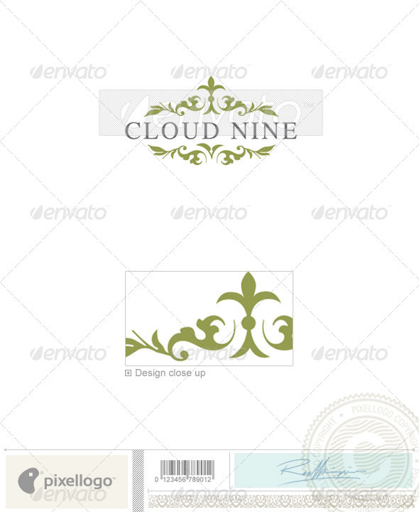 Ornament & Fashion Logo - 2219 - Crests Logo Templates