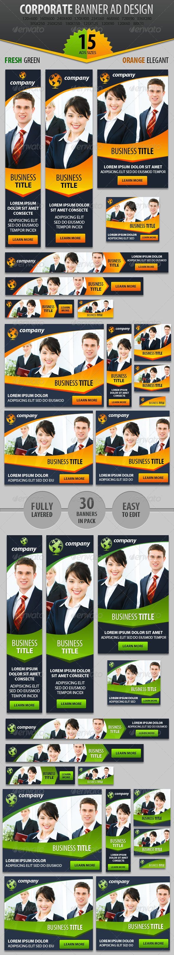 Business Web Banner ad Design