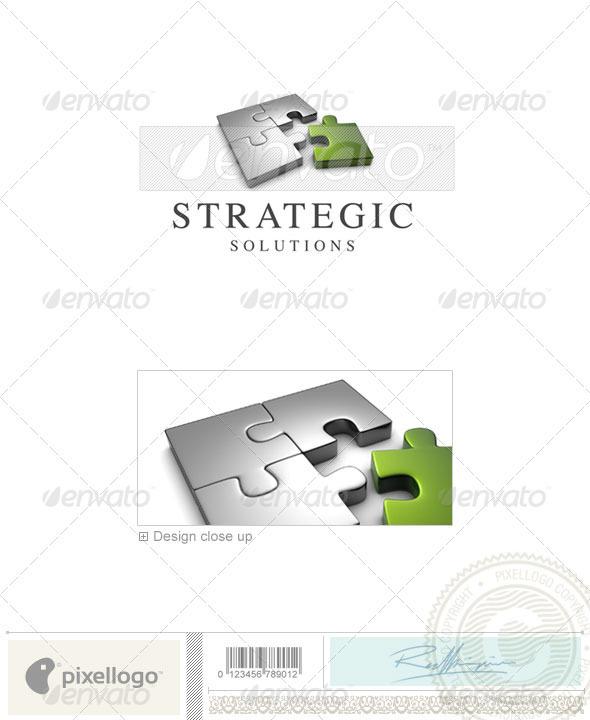 GraphicRiver Business & Finance Logo 3D-631 526650