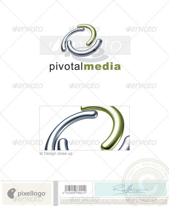 Technology Logo - 3D-678