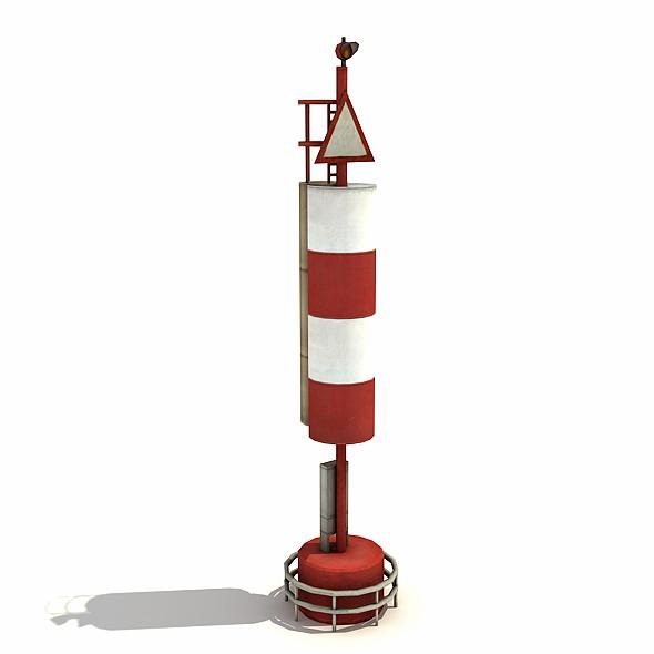 Big Port Light - 3DOcean Item for Sale