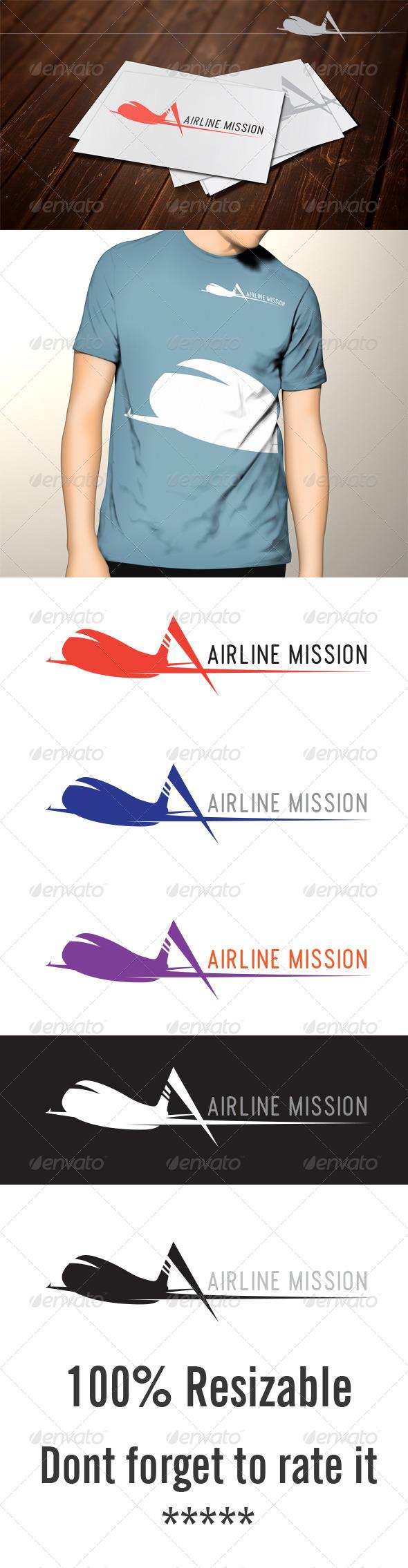 GraphicRiver Airline Mission 5108973