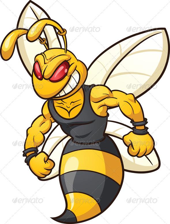 GraphicRiver Bee Mascot 5109046