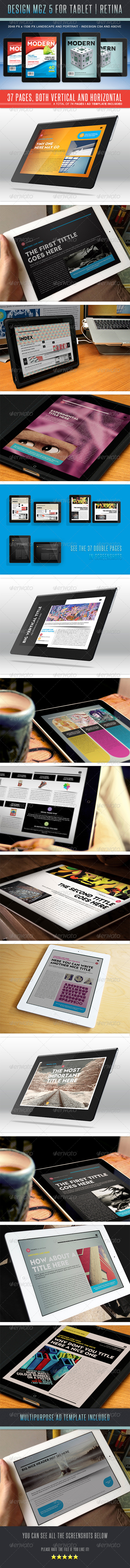 Design MGZ 5 for Tablet - Digital Magazines ePublishing