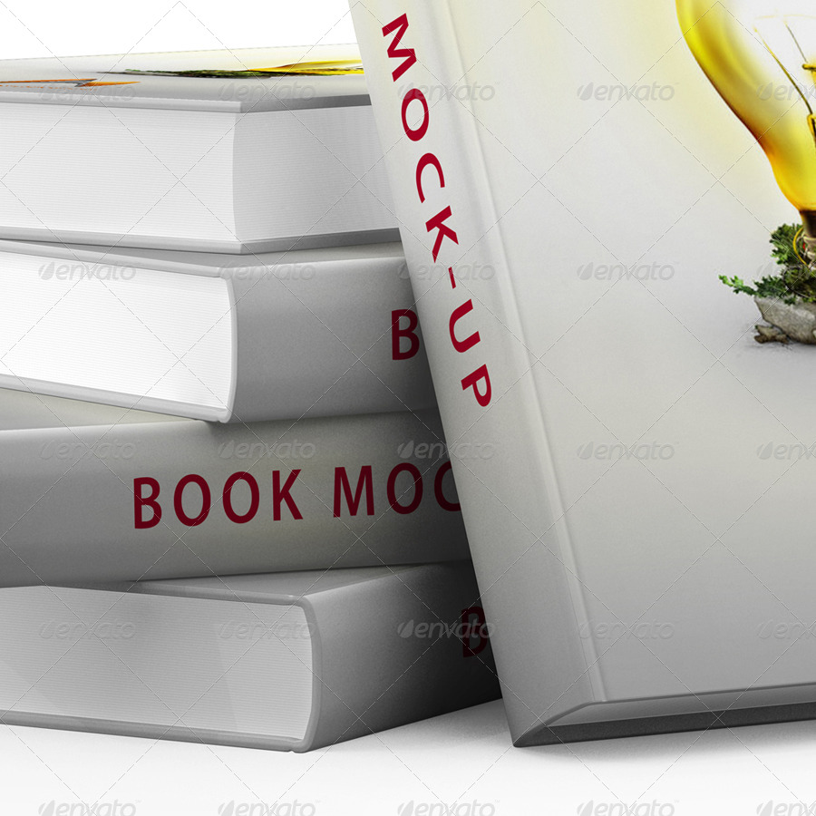 Cook Book Cover Ups : Book cover mock up by garhernan graphicriver