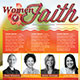 Women of Faith: Church Flyer Template - GraphicRiver Item for Sale