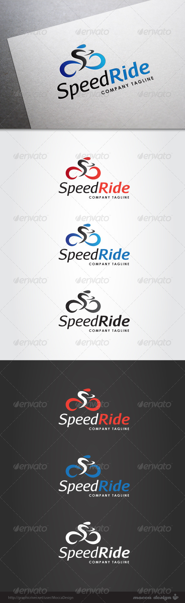 GraphicRiver Speed Ride Logo 5110723