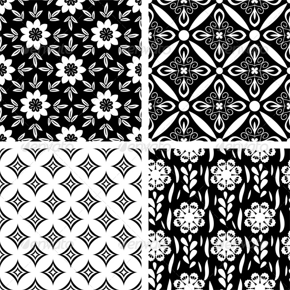 GraphicRiver Seamless Patterns 5110731