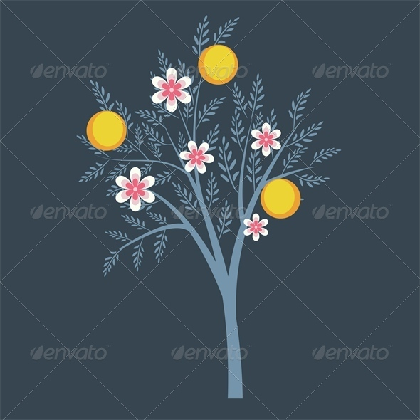 GraphicRiver Fruit Tree 5110789