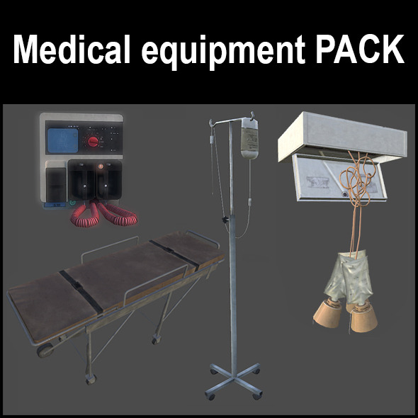 3DOcean Medical equipment 5110821