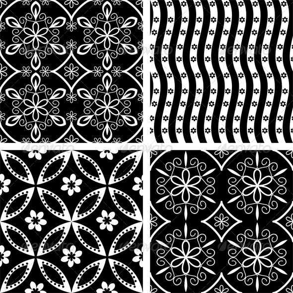 GraphicRiver Patterns Set 5110842