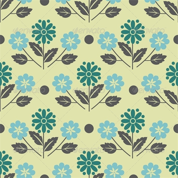 GraphicRiver Floral Pattern 5110859