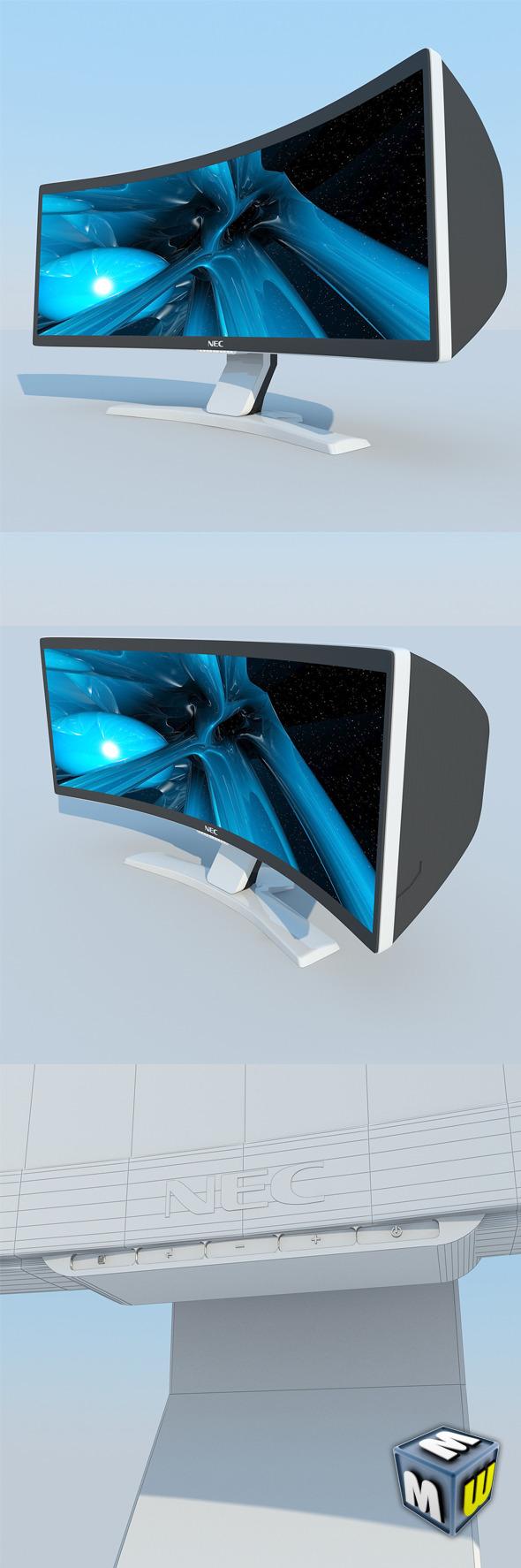 NEC CRV43 LCD Display MAX 2011 - 3DOcean Item for Sale