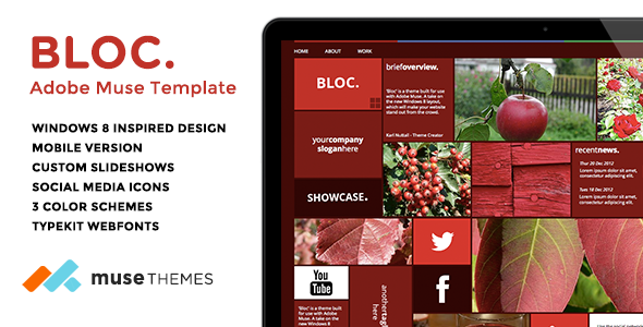 Bloc | Mosaic Muse Template