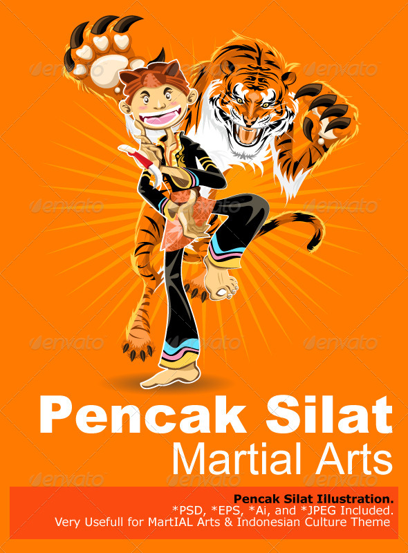 GraphicRiver Pencak Silat Martial Arts 5111461