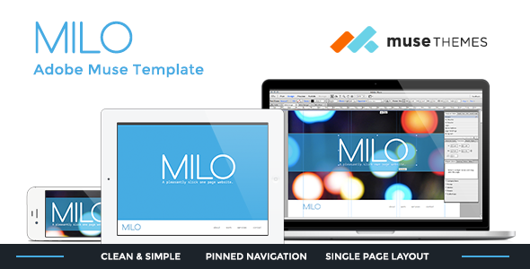 Milo | Slick Muse Template