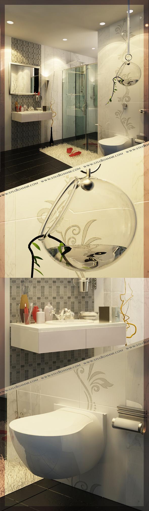3DOcean Realistic Bathroom 117 5112405