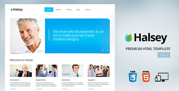 Halsey - Premium corporate template