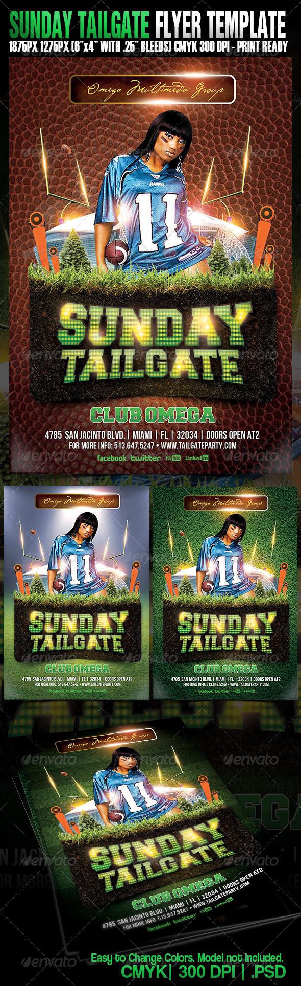 GraphicRiver Sunday Night Tailgate 5038616