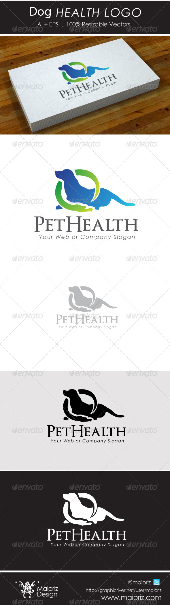 GraphicRiver Dog Health Logo 5114109