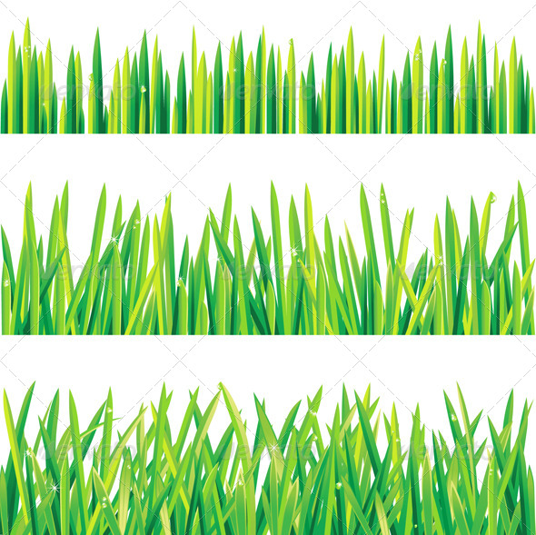 GraphicRiver Grass Borders 5114268