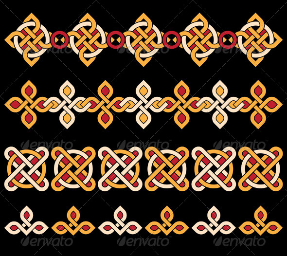 GraphicRiver Celtic Ornaments 5114275