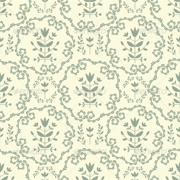 GraphicRiver Floral Pattern 5114596