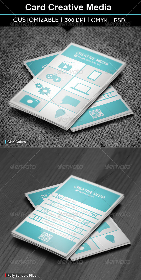 GraphicRiver Card Creative Art 5114613