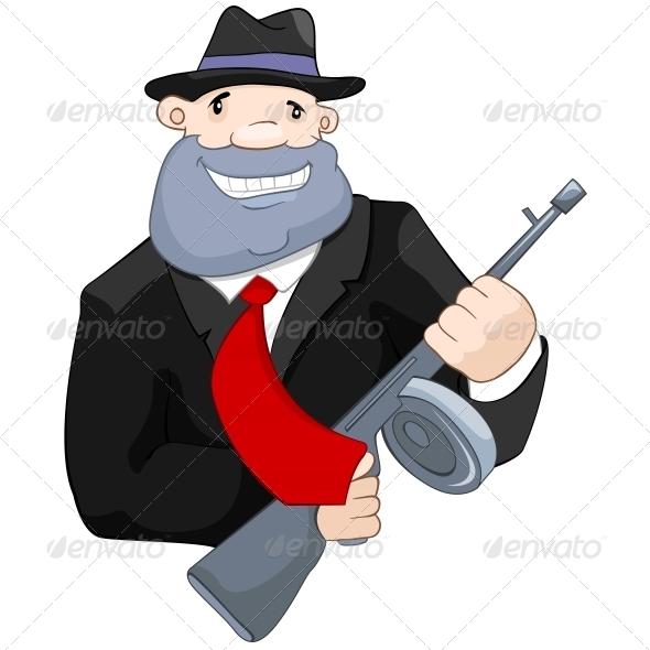 GraphicRiver Crime Man 5115116