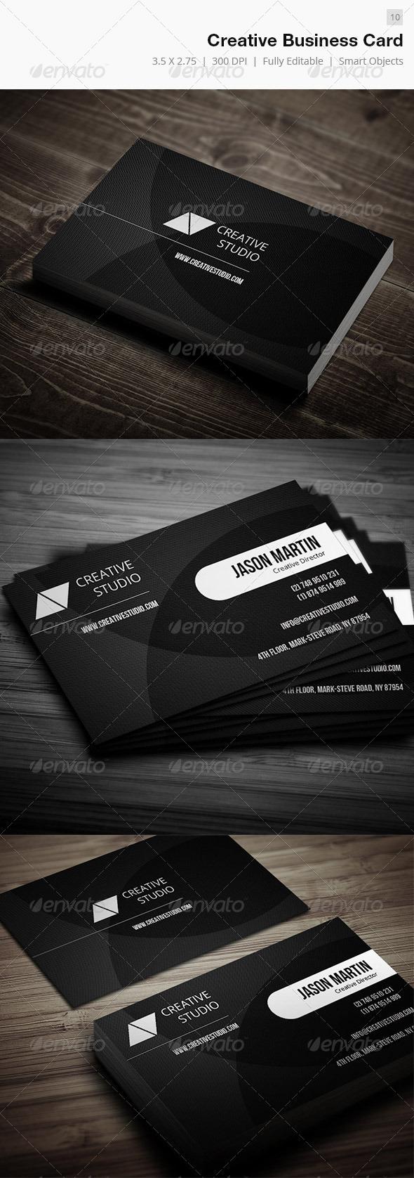 GraphicRiver Creative Business Card 10 5006039