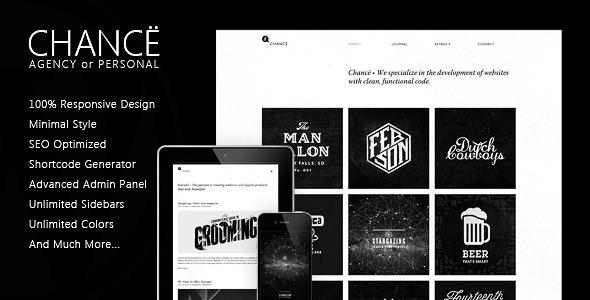 ThemeForest Chanc Responsive WordPress Theme 5115252
