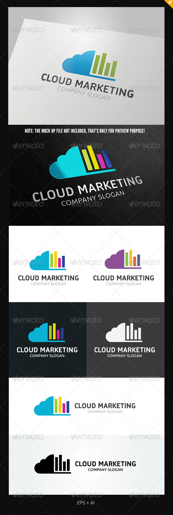 GraphicRiver Cloud Marketing 5116001