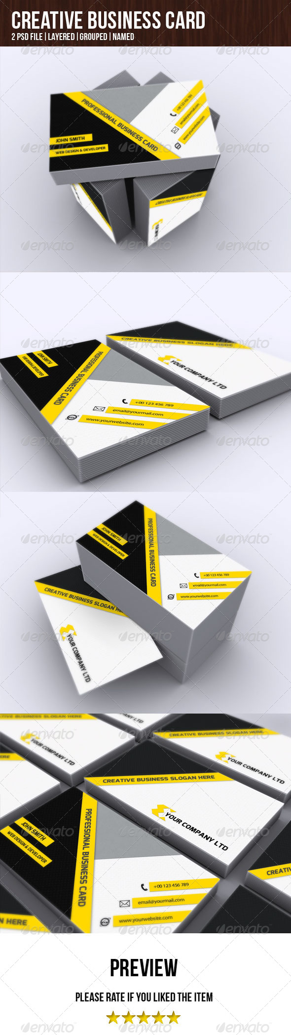 GraphicRiver Creative Business Card 4981071