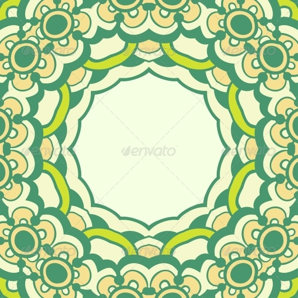 GraphicRiver Ornamental Round Lace 5116187