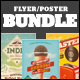 Vintage Flyers/Posters Bundle - GraphicRiver Item for Sale