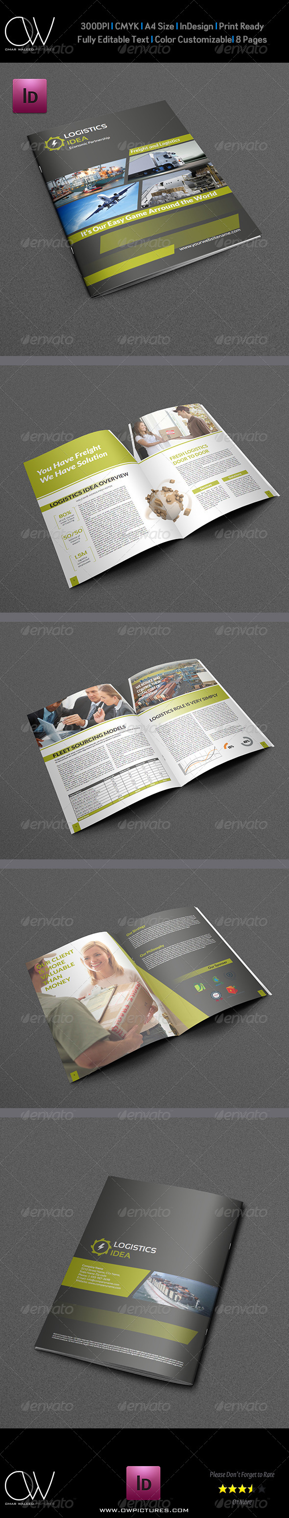GraphicRiver Logistics Services Brochure 5019776