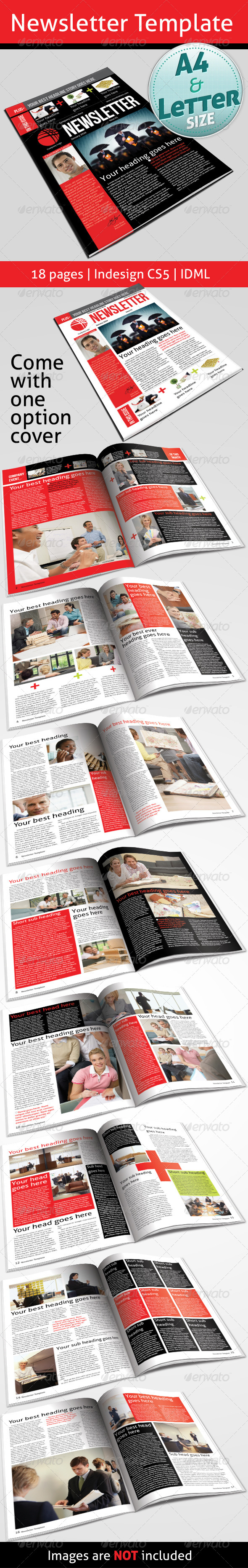 GraphicRiver Newsletter Template 5117221