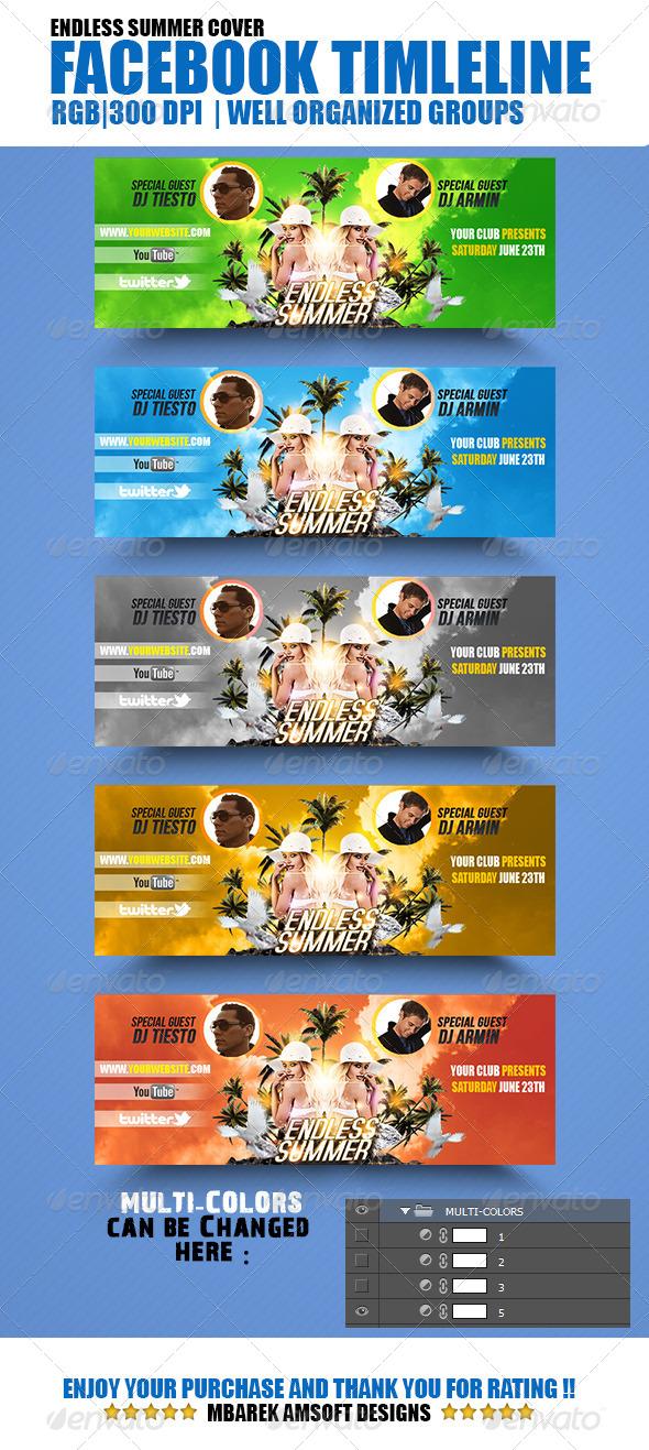 Endless Summer Facebook Timeline Cover