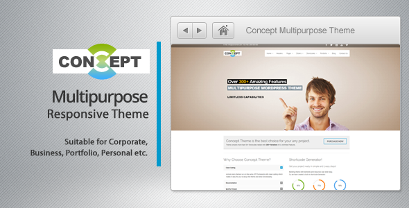 ThemeForest Concept Multi-Purpose Wordpress Theme 5117537