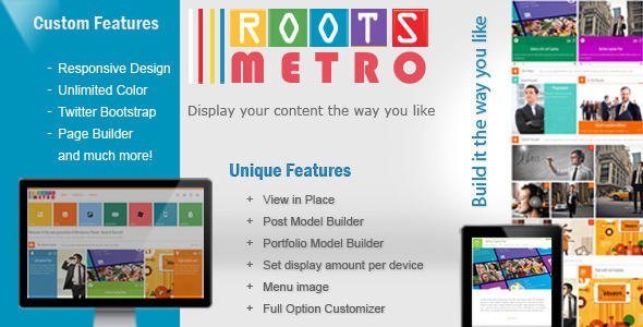 ThemeForest Built it yourself Responsive Theme 4945903