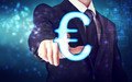 Businessman pointing Euro icon - PhotoDune Item for Sale