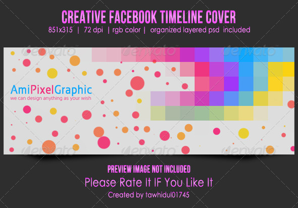 GraphicRiver Creative Facebook Timeline Cover 5117790